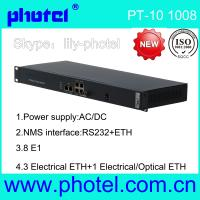 Buy cheap 8E1 Over Ethernet Tdmoip Gateway from wholesalers