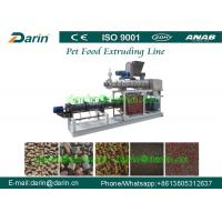 Wholesale High Capacity Pet Food Processing Line , Animal Food Making Machine from china suppliers
