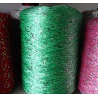 Buy cheap Soft sequin/spangle/bead knitting yarn for garment, scarf,fancy yarn from wholesalers