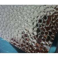 Buy cheap PVDF Coated Embossed Aluminum Sheet 2500mm Width No Scratches For Lighting from wholesalers