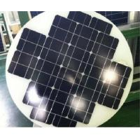 Wholesale Mono Cystral 40W Round Solar Panels , Hot Air Solar Panels Triple Layer Back Sheet from china suppliers