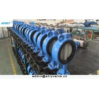 Buy cheap Flanged Wafer Lug Style Butterfly Valve CI GGG40 Body  PN16 Disc Butterfly Valve from wholesalers
