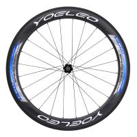 2016 Yoeleo 60mm Carbon Clincher Wheels With SL-Pro Ceramic Bearing Hubs Sapim Spokes,Toray T700**
