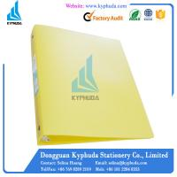 Buy cheap Plastic eco friendly 1 inch 3 O ring perfect binder from wholesalers