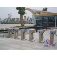 Buy cheap 304 Stainless Steel Semi Automatic Vertical Tripod Turnstile With Mifare Card Reader from wholesalers