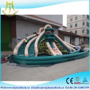 Hansel hot selling children amusement park inflatable bounce house inflatable bouncy castle Manufactures