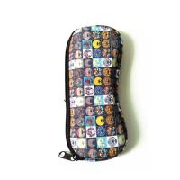 Wholesale Ultra Light Portable Travel Soft Neoprene eyeglasses Pouch Zipper.SBR Material. Size is 19cm*8.7cm. from china suppliers