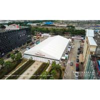 Buy cheap Clear span tent with solid ABS walls for temporary exhibition hall from wholesalers