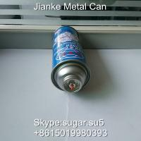 Buy cheap Metal tin cans Diam.52 height 150mm for car care cleaner spray from wholesalers