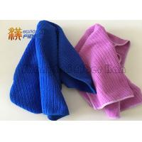 40X40cm 400gsm Microfiber Cleaning Cloth , Auto Detailing Microfiber Towels
