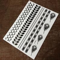 Buy cheap New product Black Temporary tattoo b02 from wholesalers
