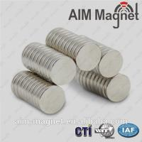 Buy cheap 10 x 1mm sintered ndfeb permanent magnets from wholesalers