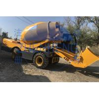 Buy cheap 4.2m3 Self Loading Cement Mixer , Diesel Engine Easymix Concrete Mixer from wholesalers