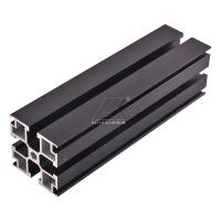 Buy cheap Aluminum T-slot extrusion aluminum profile black 6000 series T5 anodized from wholesalers