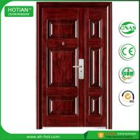 Wholesale Steel Door in China Popular Designs American Front Steel Security Doors Used for House from china suppliers