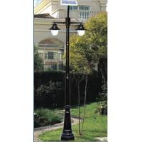 China Hign Pressure Sodium Solar Powered Garden Light With Stainless Steel Pole on sale