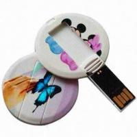 Buy cheap Micro Memory Credit Card, Promotional USB Card, Customized Shapes/Logos are Accepted, Various Colors  from wholesalers