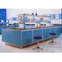 China Aluminum Groove Dental Laboratory Bench Furniture For Biological Chemistry on sale