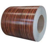 China Color coated steel coil ,color coated steel roll, precoated metal, embossed door skin, PVC film coated steel coil on sale
