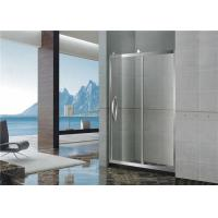 Buy cheap Big Wheels Glass Shower Screen / Single Moving Bath Shower Enclosures For Home from wholesalers