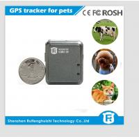 Buy cheap Mini GPS Tracker  Best Quality for Person and Pets  sim card from wholesalers