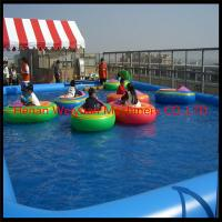 Buy cheap popular blue color inflatable PVC water pool fo paddle boats from wholesalers