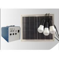 Solar energy system mini solar power generatio system for home lighting 10W Manufactures