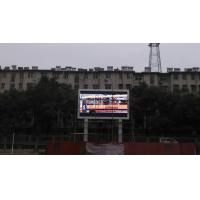 China Impact Resistant IP65 Digital Exterior LED Signs For Stage Stadium Exhibition on sale