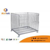 Wholesale Heavy Duty Wire Mesh Storage Cages Customized Galvanized Saving Space from china suppliers