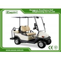 Buy cheap EXCAR 48V Trojan Batteries Used Electric Golf Carts 4 Passengers 275A from wholesalers