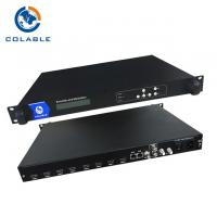 Buy cheap Digital Audio Video HD SD To RF QAM Encoder Modulator With 4 / 8 Channel Input COL5011U from wholesalers