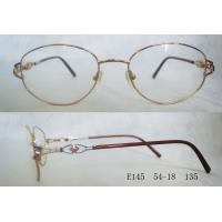 Full Rim Metal Optical Spectacles Frames For Women For Round Face Manufactures