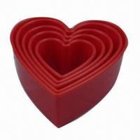 Buy cheap Super Cute, Simple Style Heart-shaped Cookie Cutter Set from wholesalers