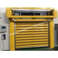 Buy cheap Aluminum Extrusion Profiles Fire Rated Roller Door Fireproofing Lift Door With Electric Openers from wholesalers