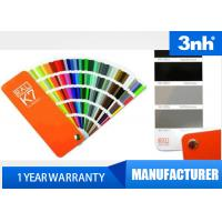 Buy cheap Professional 210 Colors Ral Color Cards , Paint Shade Card 5 * 15cm Chart Size from wholesalers