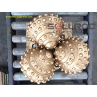 Buy cheap IADC API Carbide Tricone Rock Roller Bits For Exploration , High Efficiency product