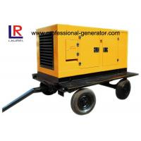 Buy cheap Portable Mobile Power Generator / Trailer Generator With Four Stroke Diesel Engine from wholesalers