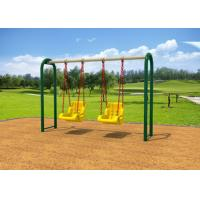 Buy cheap Outdoor Backyard Childrens Swing Set With Reinforced Connectors KP-G010 from wholesalers