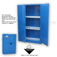 Buy cheap Industrial cabinet with exclusive paddle lock acid corrosive cabinet from wholesalers