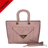 Buy cheap Trendy Europe Custom Crocodile Embossed Tote Leather Bags With Fine Workmanship from wholesalers