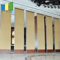 Buy cheap Collapsible Soundproof Moveable Wall Flexible Moving Folding Door Partition For Wedding Hall from wholesalers