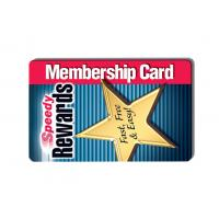 ISO Standard PVC Plastic Cards Rewards Cards Blank White / Customized