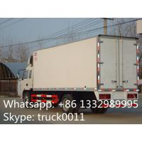 Buy cheap factory selling 4x2 35cbm 10ton jac refrigerator box truck, high quality and competitive price 5-8ton refrigerated tuck from wholesalers