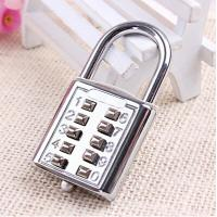 Wholesale 10-buttom Combination Padlock Password Padlocks Bags Lock Luggage Locks CR-602 from china suppliers
