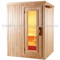 Buy cheap 4 People Dry Steam Room Equipment Durable White Pine Wood With Sauna Accessories from wholesalers