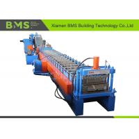 Buy cheap Hydraulic Cutting Custom Roll Forming Machine For Soundproof Walls / Back Panel Metal Roof from wholesalers