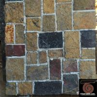 Buy cheap Flat Style Random Stacked Stone For Landscape / Garden Wall Weathering Resistance from wholesalers