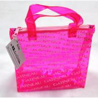 Buy cheap Beautiful And Practical PVC Zipper Bags With Handles from wholesalers