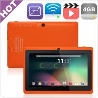 Buy cheap 7inch Dual core dual camera Allwinner A23 tablet Q88 from wholesalers