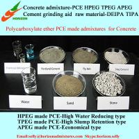 Buy cheap concrete air entraining admixture,polycarboxylate superplasticizer from wholesalers